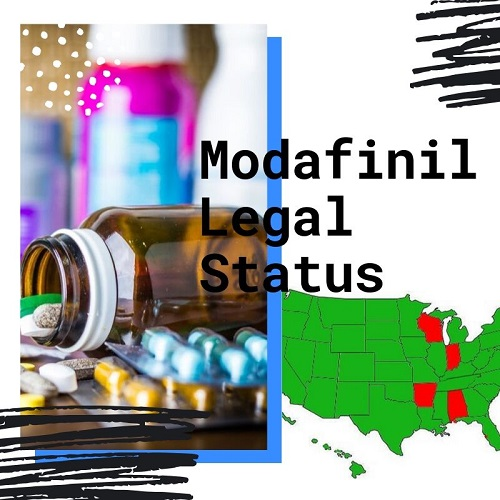 Modafinil legal status
